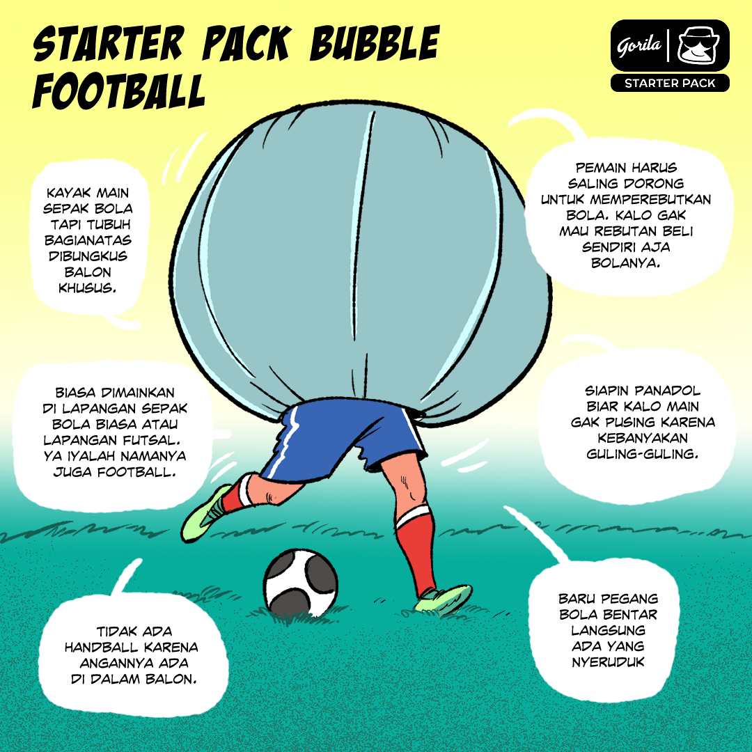 Starter Pack : Bubble football
