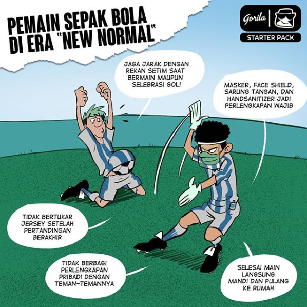 Starter Pack : Pemain Bola New Normal